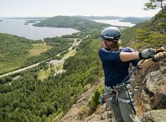 Past home corners, the UNESCO listed High Coast, northeastern Sweden. The Skuleberget Mountain, Höga Kusten Lappland, The Beautiful Country, Great Memories, Climbing, Bucket, Dreams, Mountains, Places, Summer