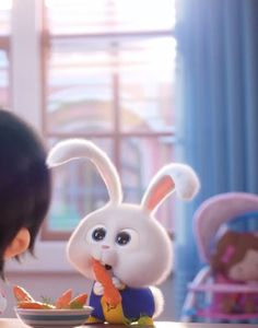 Cute Bunny Cartoon, Cute Cartoon Pictures, Cartoon Pics, Wallpaper Iphone Disney, Cute Disney Wallpaper, Snowball Rabbit, Hd Cute Wallpapers, Rabbit Wallpaper, Animal Wallpaper