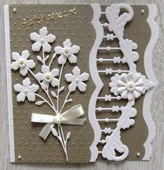 Hallo bezoekers van mijn blog. Vandaag laat ik wat kaarten zien die ik de afgelopen tijd hebt gemaakt. Leuk dat je weer even e... Painted Glass Blocks, Art Deco Cards, Marianne Design Cards, Shaped Cards, Wedding Anniversary Cards, Die Cut Cards, Card Sketches, Sympathy Cards, Scrapbook Cards