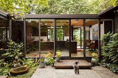 Mid Century Modern Kitchen - Moderno - Fachada - Portland - de Mosaik Design & Remodeling