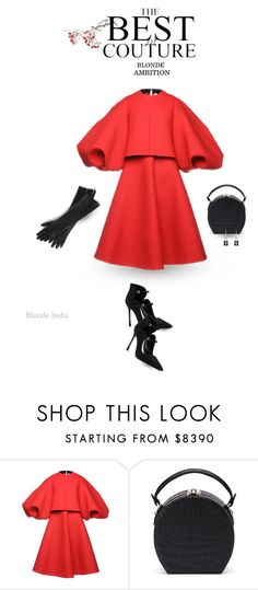 """""""There are hints about who you are in what you wear"""" by blonde-bedu ❤ liked on Polyvore featuring Chanel, Dice Kayek and Bertoni"""