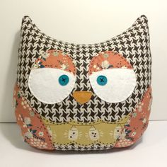 Owl Pillow - Lightening Bugs