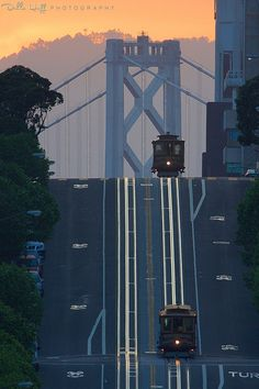Sunrise on the Rollercoaster San Francisco | by Della Huff Photography