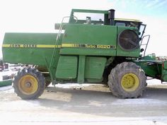 John Deere 6620 combine salvaged for used parts. New, rebuilt and used tractor parts - All States Ag Parts. 877-530-4430