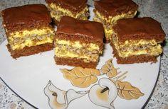 Prajitura care a innebunit planeta! Focaccia Bread Recipe, Bread Recipes, Cookie Recipes, Romanian Desserts, Romanian Food, Potluck Desserts, Food Cakes, Coco, Fudge