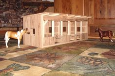 Wooden Toy Barn #1
