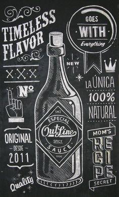 Outline Sauce on Behance