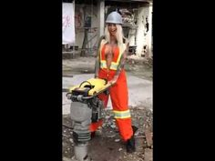 Sexy construction worker - YouTube