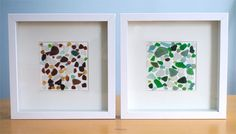 Creative in Chicago: a decorating blog: Sea Glass Wall Art