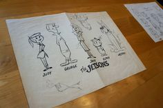 A Peek Into the Jetsons Archive at Warner Brothers Animation