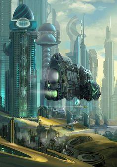 [Science fiction art] Arrival by dearden at Epilogue