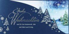 Raffiniert wirkt diese #Weihnachtskarte mit dem bedruckten Einleger. Hier finden alle Ihr guten #Weihnachtswünsche ein sehr hübsches Plätzchen! 💫 Waves, Artwork, Winter Scenery, Christmas Time, Xmas Cards, Nice Asses, Work Of Art, Auguste Rodin Artwork, Artworks