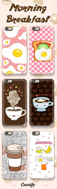 Things Go Better with Breakfast! Check out these amazing cases by @kostolom3000 here: https://www.casetify.com/kostolom3000/collection | @casetify