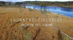 Luonnonsuojelualue Savijärven - Koli, Finland (Itä Suomi) Sarijärven suon Natura-alue (Polku) Nature Trail near Koli National Park, Juuka – Ahmovaara, North Karelia DJI Phantom 3 Professional aerial shots – copyright larsscheve.nl