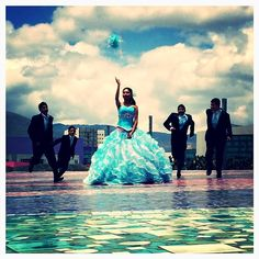 #quinceañera #pachuca #blue