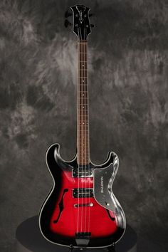 Baldwin Vibraslim Bass 1966 Red Sunburst