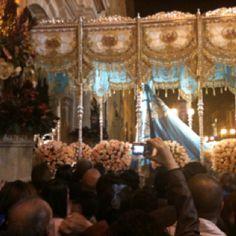 Recogida de la Virgen de los Dolores #lorca #semanasantalorca Fair Grounds, Cities