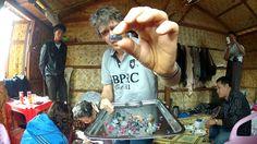 Peretti views rough crystals in Mogok, Sapphire, Crystals, Google, Crystal, Crystals Minerals