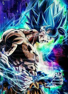 Super Saiyan Blue Goku Battle Damage Push beyond limits! Dragon Ball Gt, Poster Superman, Poster Marvel, Naruto, Son Goku, Super Saiyan, Otaku, Fan Art, Steam Profile