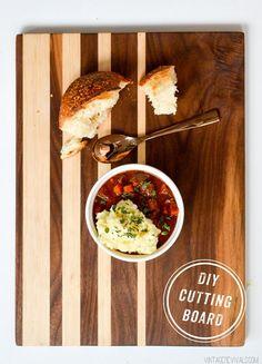 Vintage Revivals | DIY Cutting Board + Cooking(!)