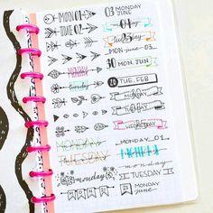 Journal ideas #Caligrafía #Tipografía
