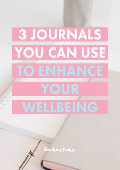 Discover 3 journals you can use to improve your wellbeing in the areas of organization, health and happiness. Plus, discover simple journaling tips you can try yourself! Journal Inspiration, Journal Ideas, Journal Layout, Morning Pages, Mental Health Journal, Keeping A Journal, Self Care Routine, Holistic Healing, Journal Prompts
