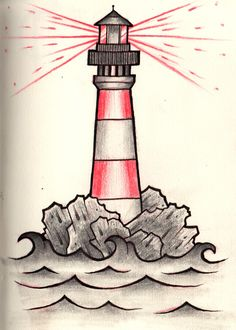 Simple Lighthouse Tattoo | ourimgs.com - The Hippest Galleries!