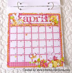 Cute downloadable Calendars at NITWIT Collections