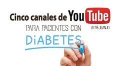 Cinco canales de Youtube para pacientes con diabetes