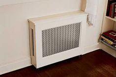 15 Stylish Radiator Cover Ideas to Hide Your Home's Old, Ugly Radiators Diy Radiator Cover, Heating And Plumbing, Cast Iron Radiators, Home Fix, Foyer Decorating, Decorating Ideas, My Living Room, Bathroom Organization, Old Houses