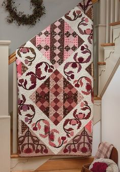 "Another beauty from ""Elegant Quilts, Country Charm"""