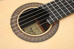 Guitar Rene Baarslag Especial Roseta 2