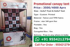 Canopy Tent - Printtrade Canopy Tent, Canopies, Framed Fabric, Printed Materials, Stars, Holiday Decor, Prints, Framing Fabric, Sterne