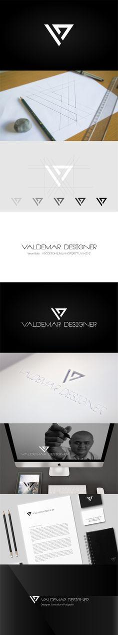 Cliente: Valdemar Guedes  Profissão: Designer, Ilustrador e Fotógrafo Logotipo: Valdemar Designer