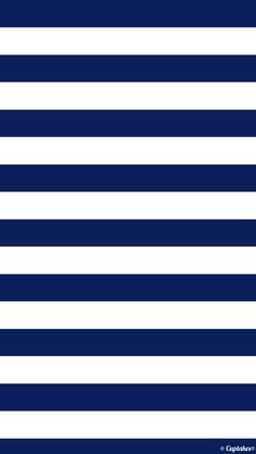 Blue & White Stripes