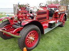1922 Ahrens-Fox J-M-2 Fire Truck / St. Paul Fire Department ...