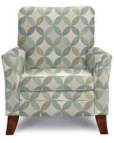 Riley High Leg Recliner by La-Z-Boy; Cover type Fabric; cover color Capri (G108894); http://www.la-z-boy.com/Product/54-6917/Riley-Recliner/