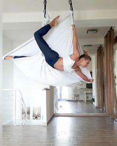 481 Likes, 48 Comments - Air Yoga Girl Aerial Hammock, Aerial Dance, Aerial Yoga, Aerial Silks, Iyengar Yoga, Ashtanga Yoga, Vinyasa Yoga, Videos Yoga, Air Yoga