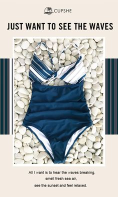 178c7d3d8a Trending Swimwear 2018 Picture Description New Year New Arrival! Show you  the most trendy style of beach fashion! Cupshe Soulful Hug Print One-piece