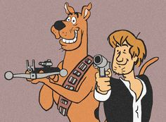 The Original Han and Chewie by *DrNealAxe on deviantART