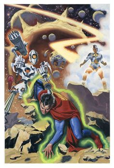 Steve Rude Adventures of Superman cover