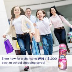 Enter daily for a chance to win a $250 gift card & a year's supply of Purex Crystals! Ends 9/30. #Sweepstakes