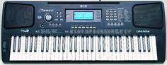 Einfaches Anfänger Keyboard mit Kopfhörerbuxe und Netzteil!