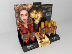 L'Oreal 3D Visualisation by Andrey Melnikov, via Behance
