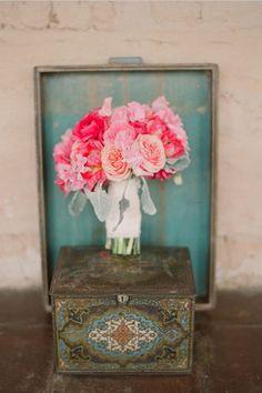 O Blog da Maria. Casamentoclick. #bouquet #cor-de-rosa #flores