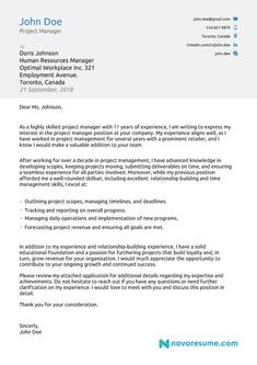 25 Resume Cover Letters Cover Letter Examples For Job Cover