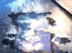 grafika scenery and anime