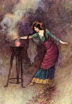 Brigid, Celtic Goddess of fire