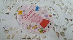 Rotulo Oval Peppa Pig