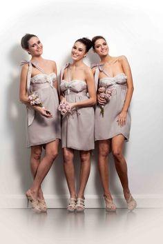 Bridesmaids - Anna Campbell designer bridal fashion Melbourne